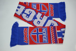 Norway Acrylic Football Scarf