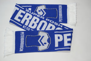 Peterborough Acrylic Football Scarf