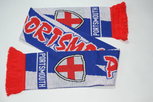 Portsmouth Acrylic Football Scarf