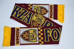 Roma Acrylic Football Scarf