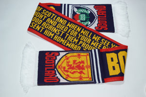 Scotland Acrylic Football Scarf