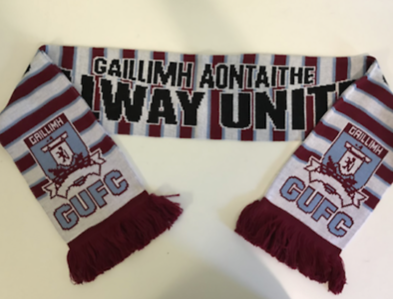 Gallway Acrylic Football Scarf