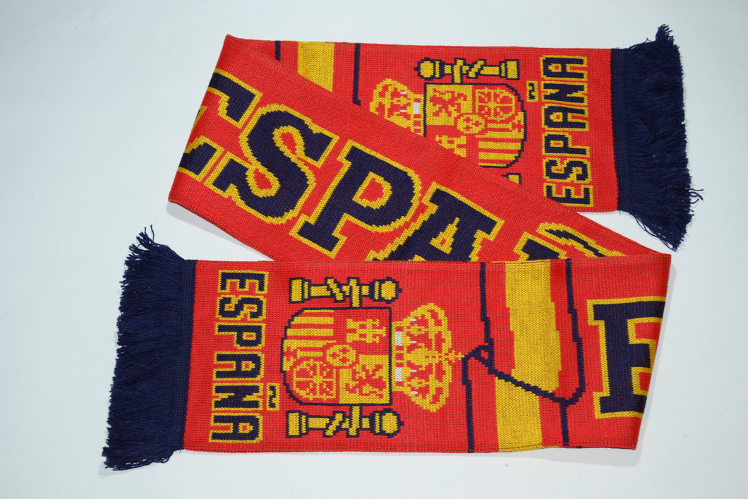 Spain Acrylic Football Scarf