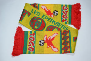 Togo Acrylic Football Scarf