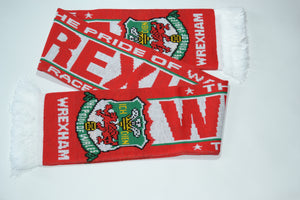 Wrexham Acrylic Football Scarf