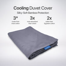 Load image into Gallery viewer, Cooling Duvet Cover for Weighted Blanket - Soothe Lab