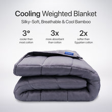 Load image into Gallery viewer, Cooling Weighted Blanket - Soothe Lab