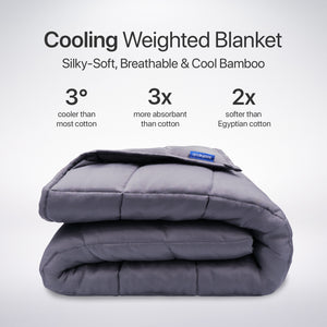 Cooling Weighted Blanket - Soothe Lab