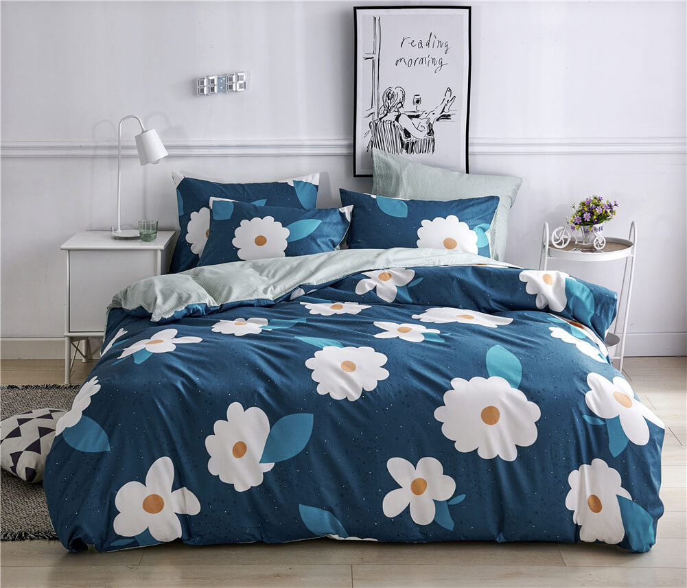 Garden Flower Duvet Cover Set
