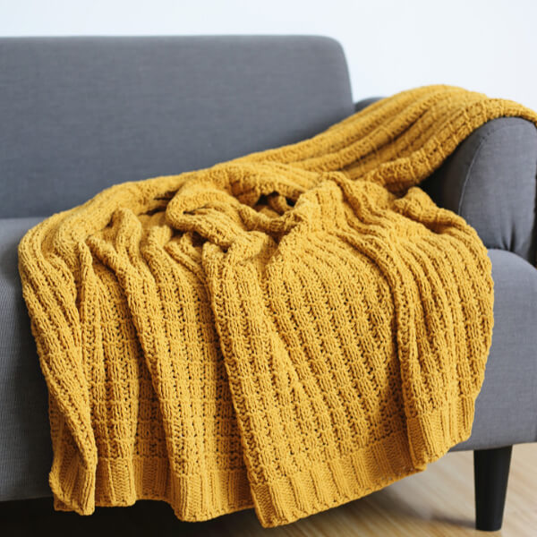 "Sofa Throws | Knit Throw Blanket (50""x60"")"
