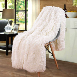 Chic Home Faux fur Fleece Blanket