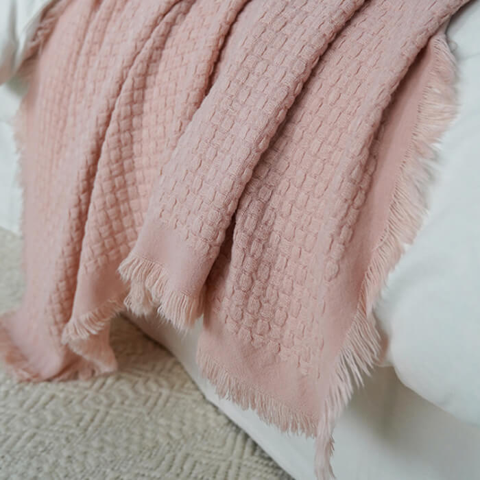"Soft Cozy Chenille Chunky Knit Throw Blanket (50""x60"")"