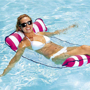 Inflatable Hammock Portable Pool Float