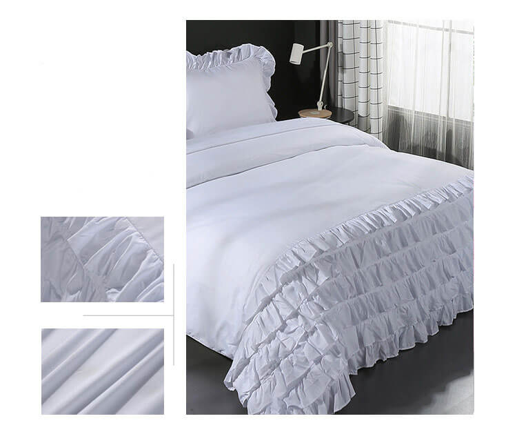 Duvet Cover, Full/Queen, White - Bedding - Duvet Covers & Shams - Bedroom Decor