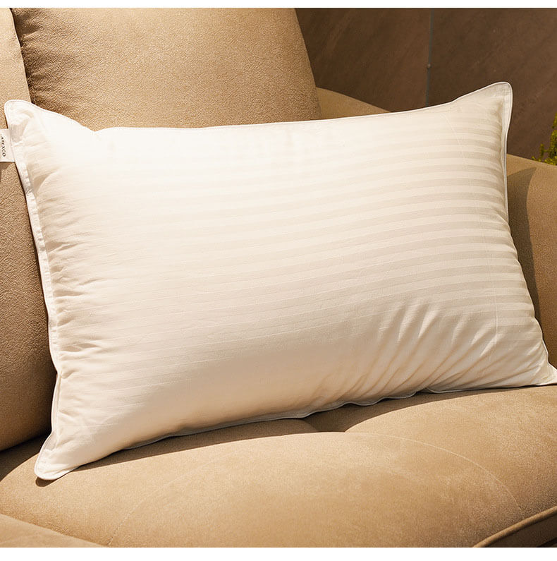 Plush Gel Pillow (2-Pack)- Dust Mite Resistant & Hypoallergenic