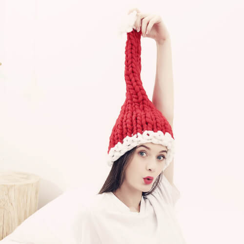 Womens Beanie Winter Christmas Hat Slouchy Warm Snow Knit Skull Cap