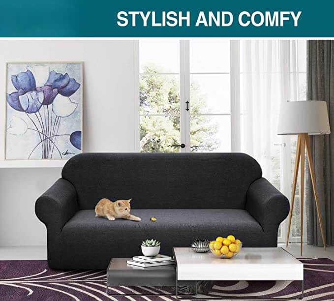 Water Repellent Sofa Cover High Stretch Couch Slipcover Super Soft Fabric Couch Cover