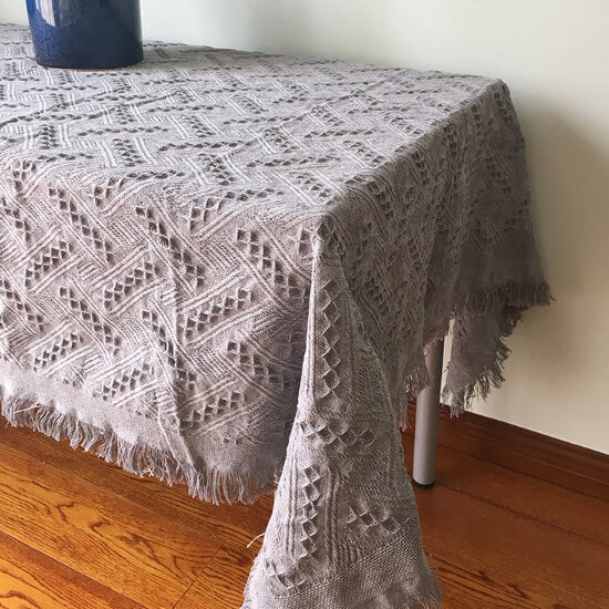 Knit Throw Blanket,summer linen waffle blanket