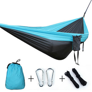 Single Double Hammock | Outdoor Backpacking Travel Sleeping Bed