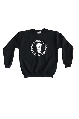 Kids Wrap Sweatshirt- Feeds 4 Rescue Dogs