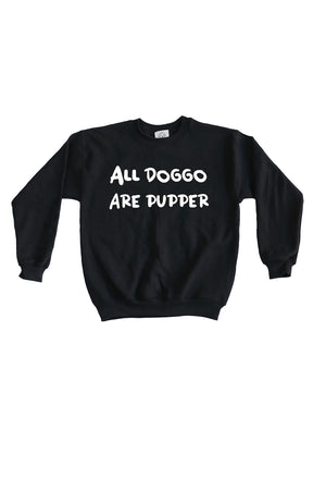 Kids Doggo Sweatshirt- Feeds 4 Rescue Dogs