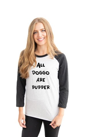 Baseball Doggo Tee - Feeds 8 Rescue Dogs