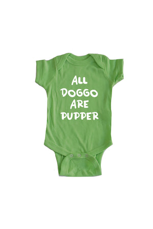 Baby All Doggo Onesie - Feeds 4 Rescue Dogs