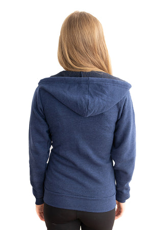 Our Best Full Fleece Wrap Hoodie - Feeds 10 Rescue Dogs
