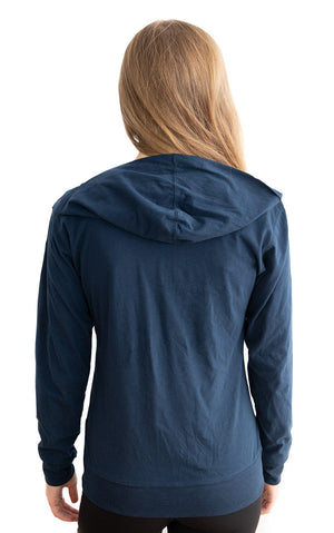 Suede Wrap Hoodie - Feeds 8 Rescue Dogs