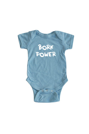 Baby Bork Power Onesie - Feeds 4 Rescue Dogs
