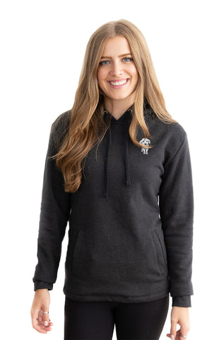 Fleece Pullover Pup Hoodie - Feeds 6 Rescue Dogs
