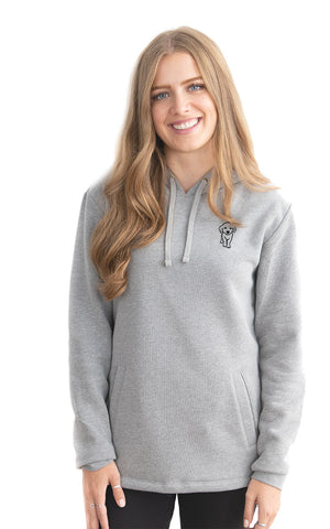 Fleece Pullover Pup Hoodie - Feeds 8 Rescue Dogs