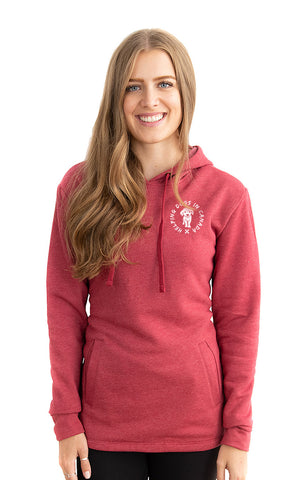 Fleece Pullover Wrap Hoodie - Feeds 8 Rescue Dogs