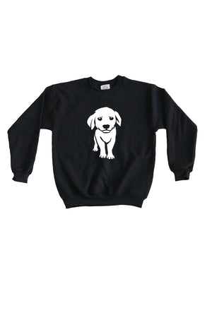 Kids Puppy Sweatshirt- Feeds 4 Rescue Dogs
