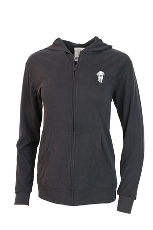 Suede Pup Hoodie - Feeds 8 Rescue Dogs