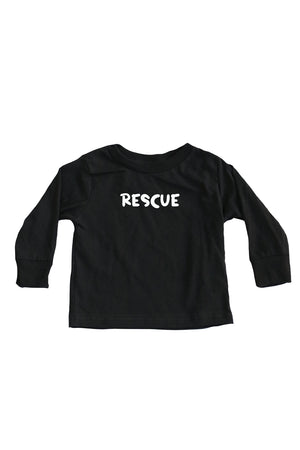 Toddler Rescue Long Sleeve - Feeds 2 Rescue Dogs