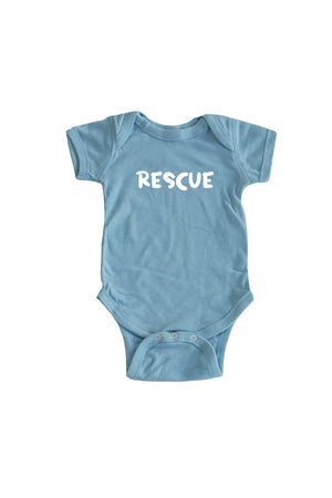 Baby Rescue Onesie - Feeds 4 Rescue Dogs