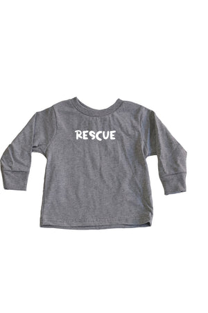 Toddler Rescue Long Sleeve - Feeds 5 Rescue Dogs