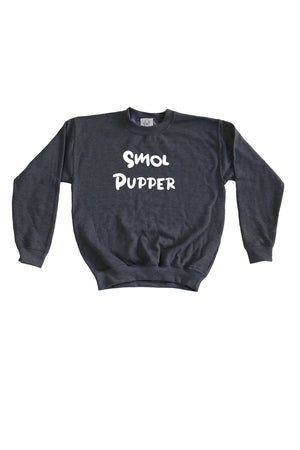 Kids Smol Pupper Sweatshirt- Feeds 4 Rescue Dogs