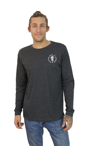 Longsleeve Wrap Tee - Feeds 7 Rescue Dogs
