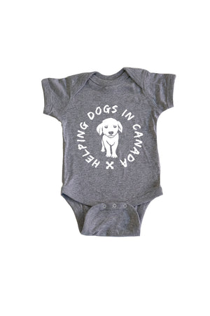 Baby Wrap Onesie - Feeds 4 Rescue Dogs