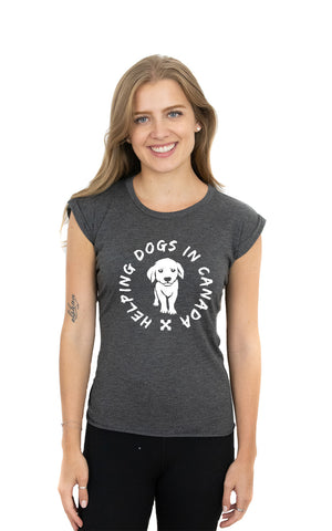 Flowy Wrap Muscle Tee - Feeds 3 Rescue Dogs