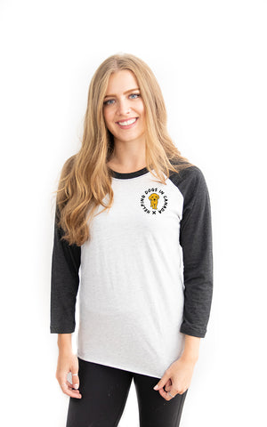 Wrap Baseball Tee - Feeds 8 Rescue Dogs
