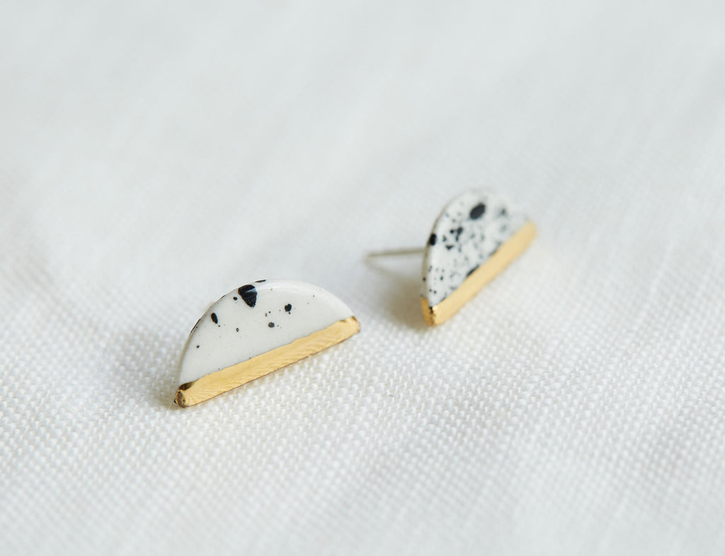 Small Halfmoon Earrings