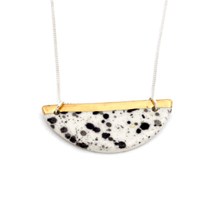 Halfmoon Nguni Necklace