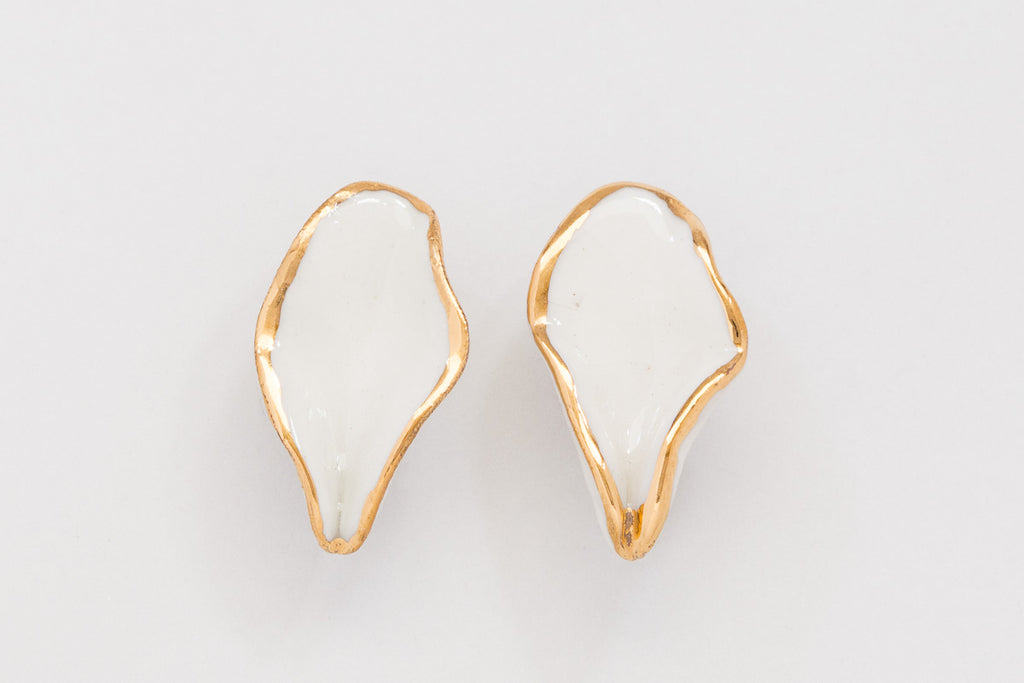 Flora Leaf Earrings