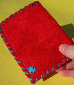 Owly Snap Pouch - Eco-friendly Felt Owl Wallet/Pouch