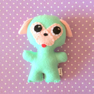 Puppies - Eco-friendly Felt Plush Pup - Pick a colour!