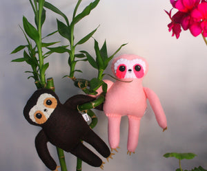 Little Sloth - Small Eco-friendly Felt Plush Sloth