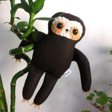 Load image into Gallery viewer, Little Sloth - Small Eco-friendly Felt Plush Sloth